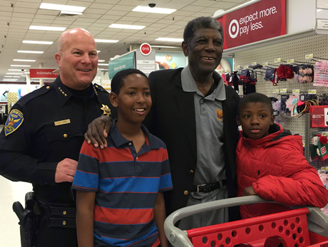 Shop with a Deputy with Al Attles