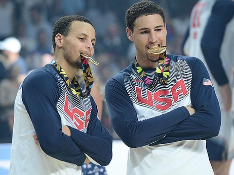 Splash Brothers Help Team USA Win World Cup Gold