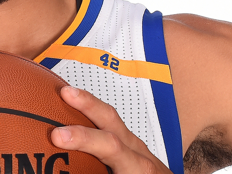 Warriors to Wear #42 Patch on Uniforms All Season in Honor of Nate Thurmond