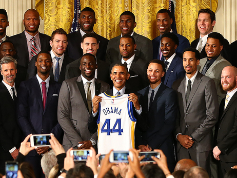 Warriors at the White House