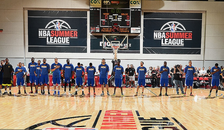 Warriors Announce 2014 NBA Summer League Schedule