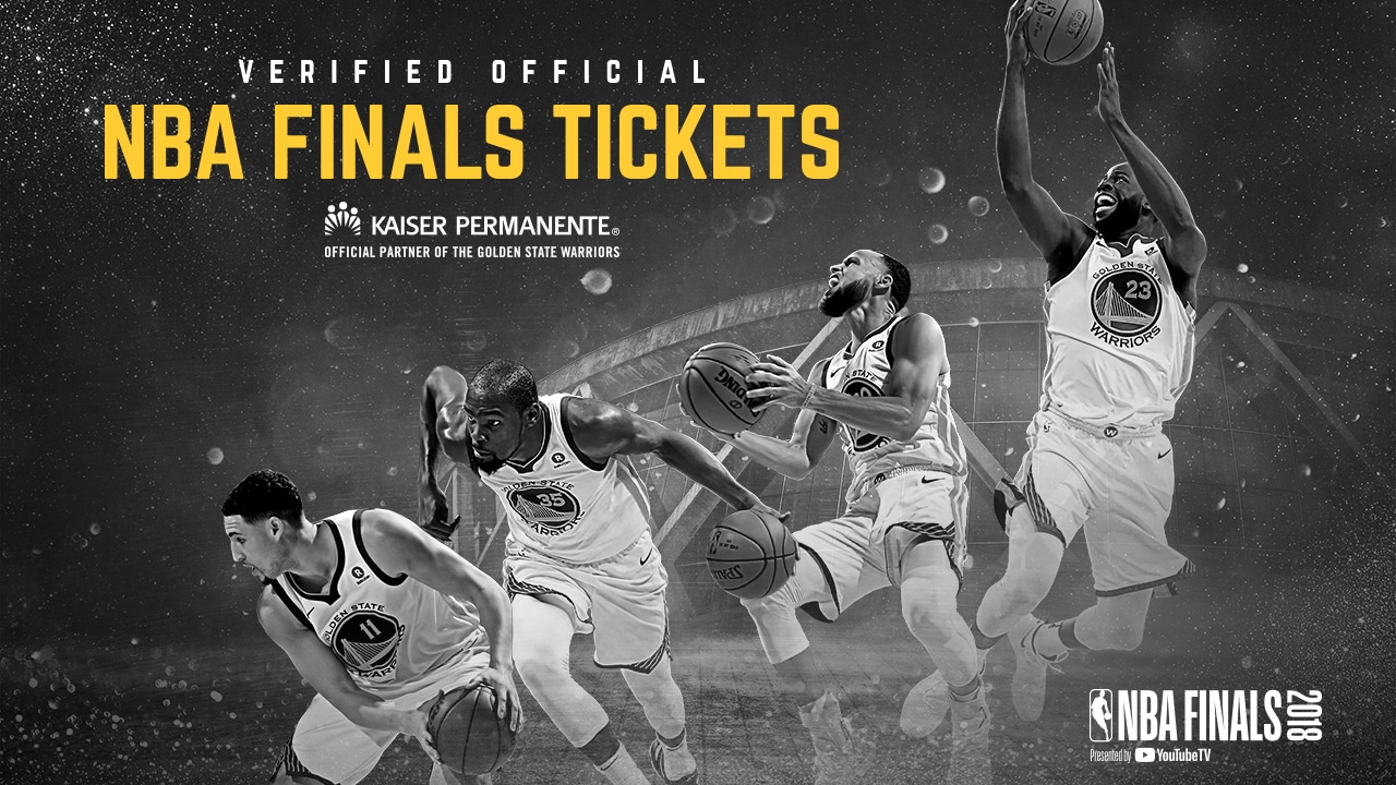 Warriors Tickets for the NBA Finals Available During Exclusive Presale Events Tuesday | Golden ...