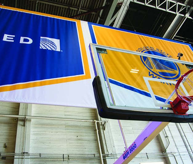 Warriors New Stadium Status: United Airlines Scores As Founding Partner Of Chase Center