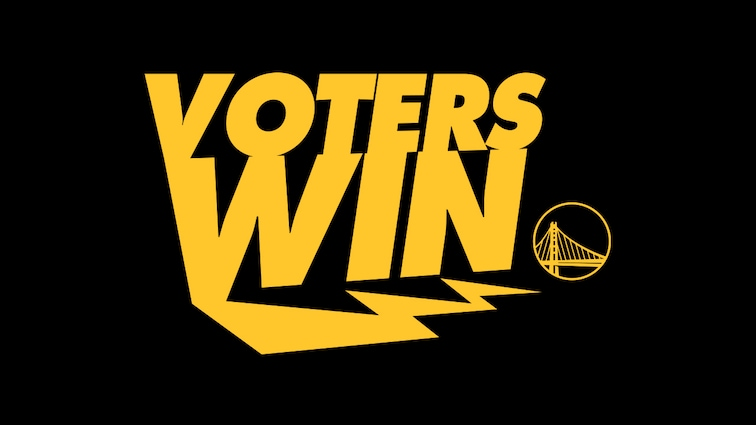 Warriors Announce Voters Win Contest with Atlanta Hawks, Los Angeles Clippers