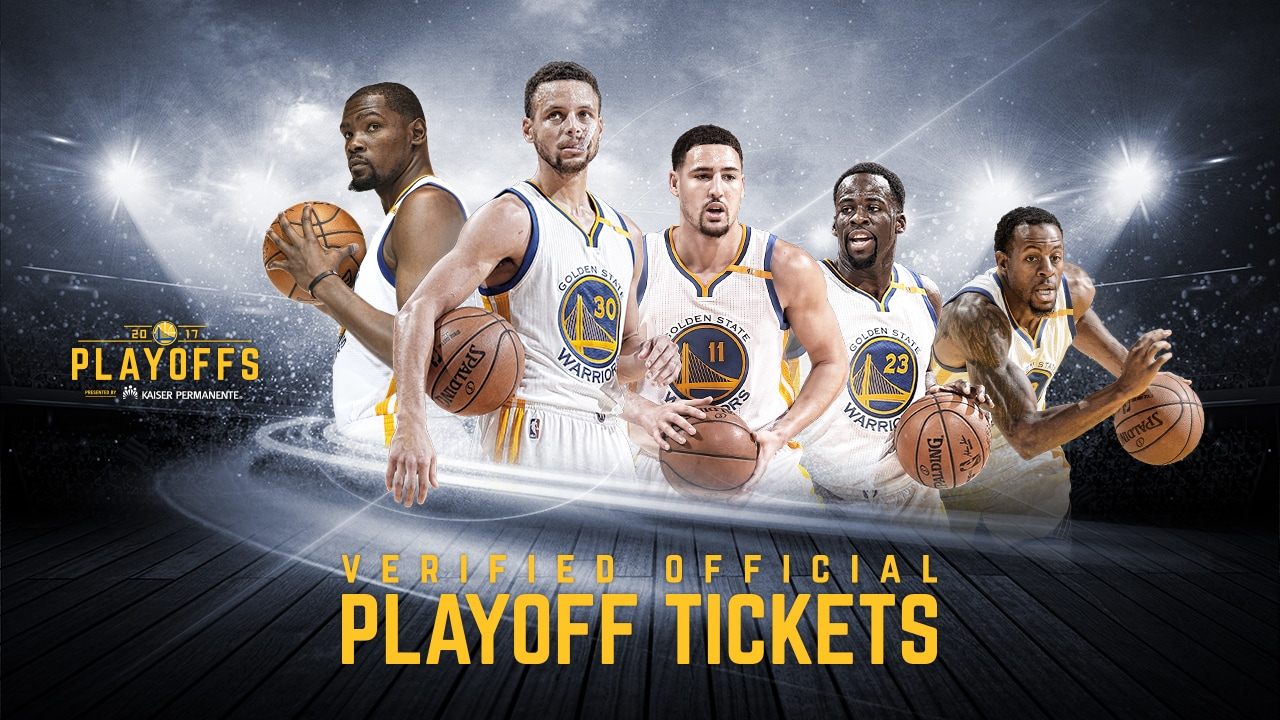 Warriors Tickets For The 2017 NBA Playoffs Available ...