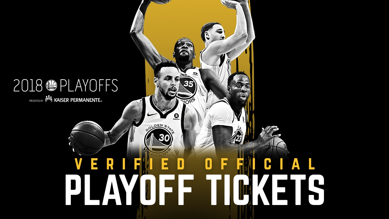 Warriors Tickets for the 2018 NBA Playoffs Available During Exclusive Presale Events This Week ...