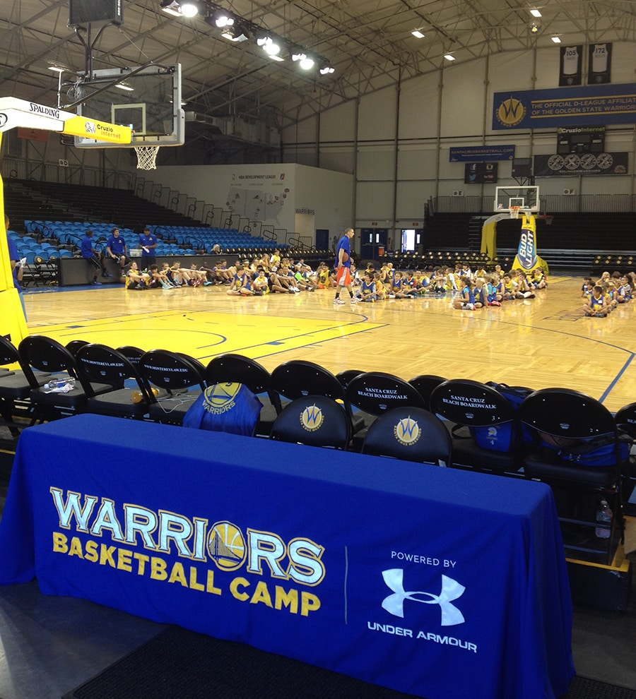 Warriors New Stadium Season Tickets: Warriors Basketball Camp Summer 2014: Santa Cruz
