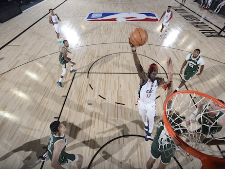 Photos: Wizards vs. Bucks - 8/11/20