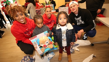 Spreading holiday cheer at annual Family-to-Family event