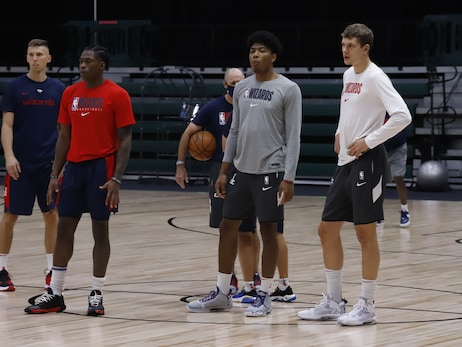 Photos: Wizards final practice in Orlando - 8/12/20