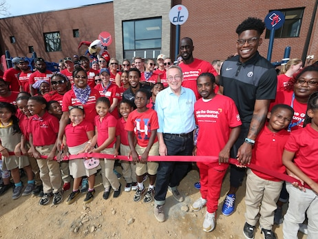 Photos: MSE, Wizards partner with KaBOOM! to build playground - 9/27/19