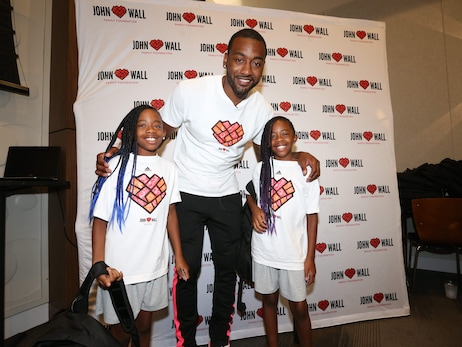 Photos: John Wall Family Foundation Sixth Annual Backpack Giveaway