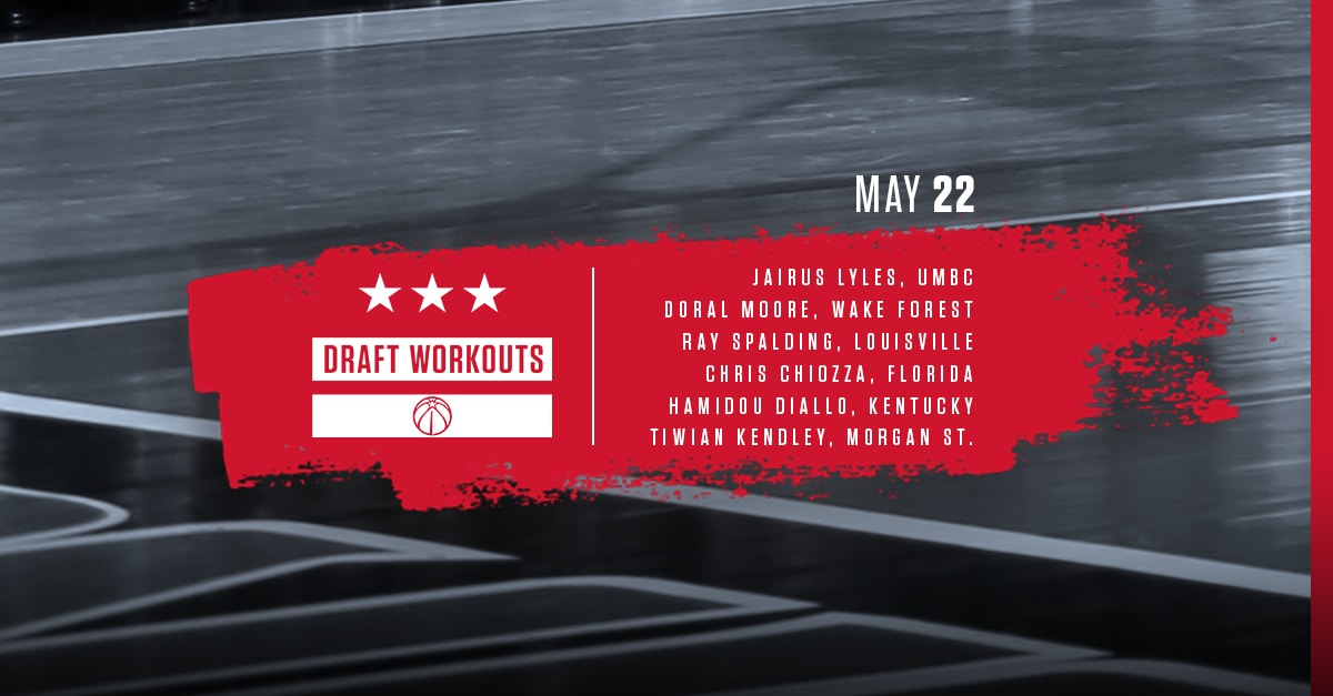 fc83ade660a9 Wizards Draft Workouts - 5 22 18