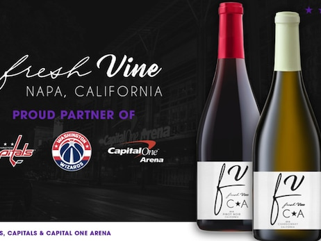 Monumental Sports & Entertainment and Fresh Vine Wine announce multi-year partnership  and month-long fundraising effort in support of Coronavirus relief efforts in the D.C. region