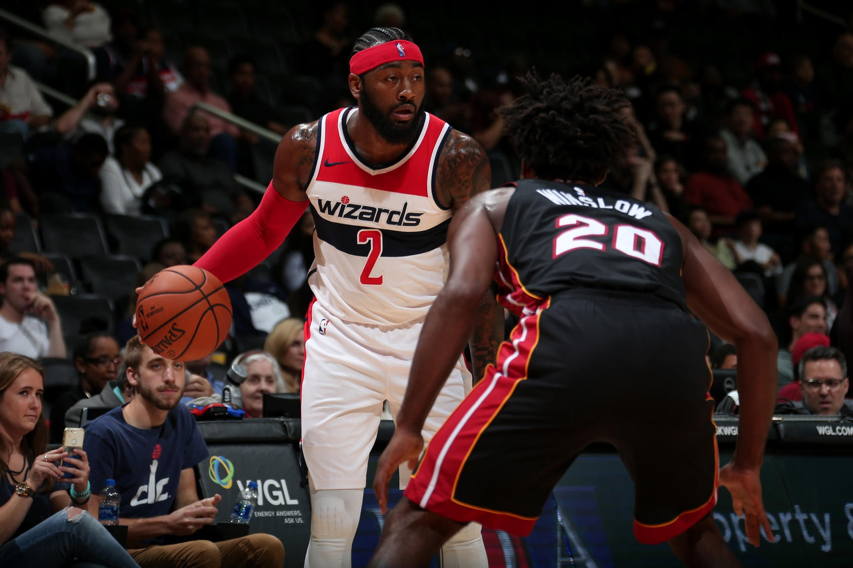 Wizards take on Heat at home opener on Oct. 18
