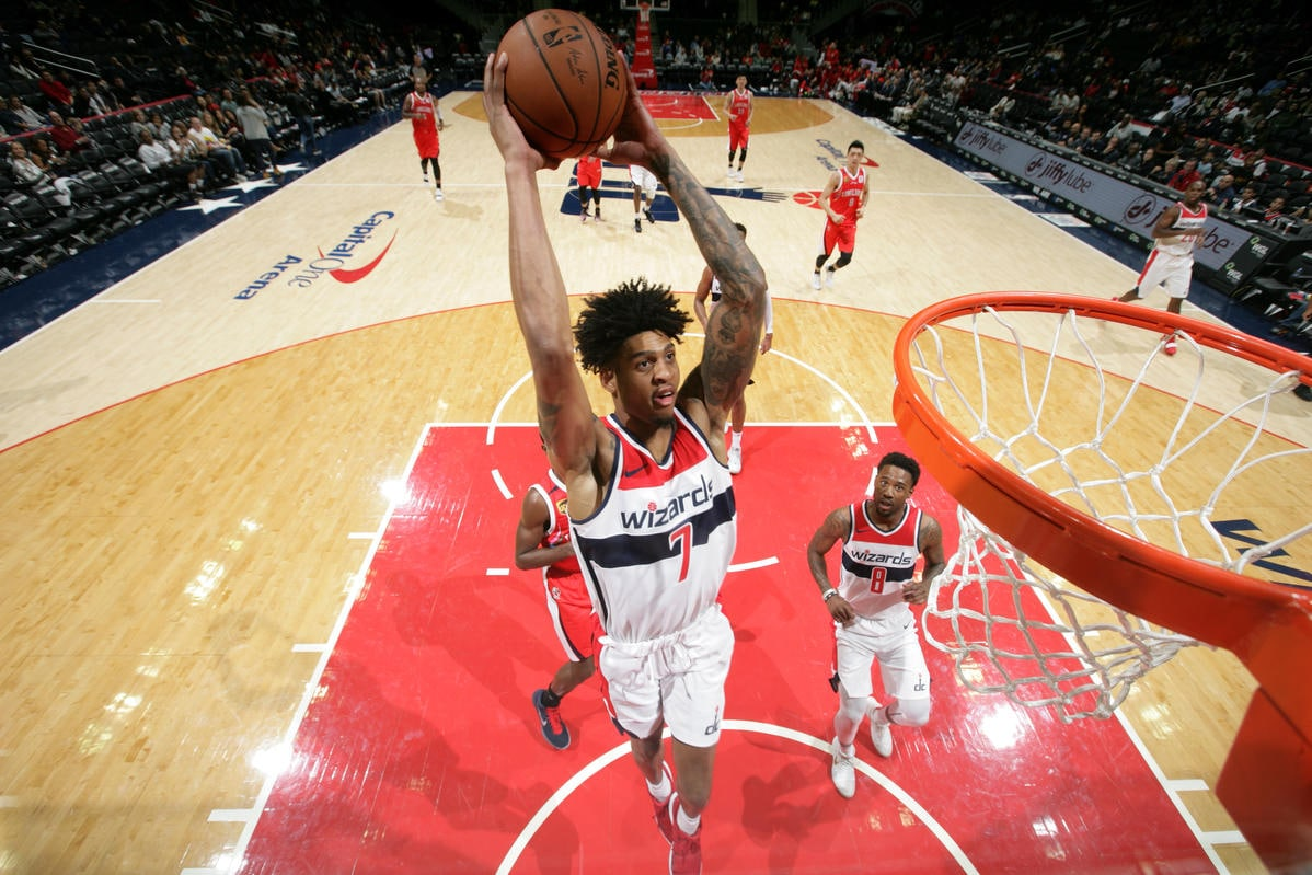Wizards wrap up preseason on high note