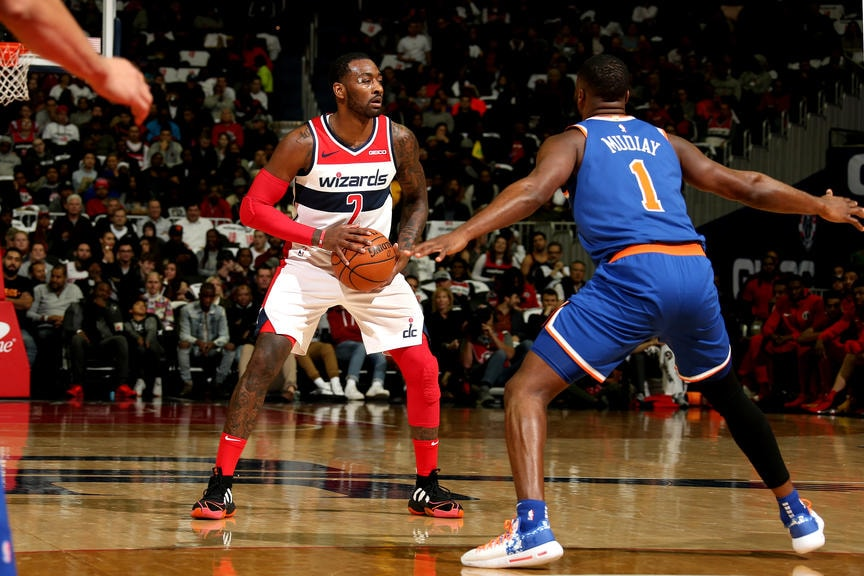 Wizards start four-game trip in New York