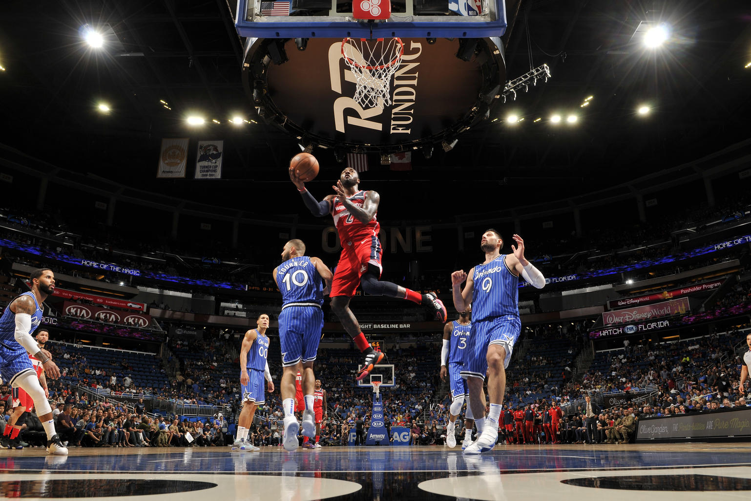 Late rally not enough as Wizards lose to Magic 117-108