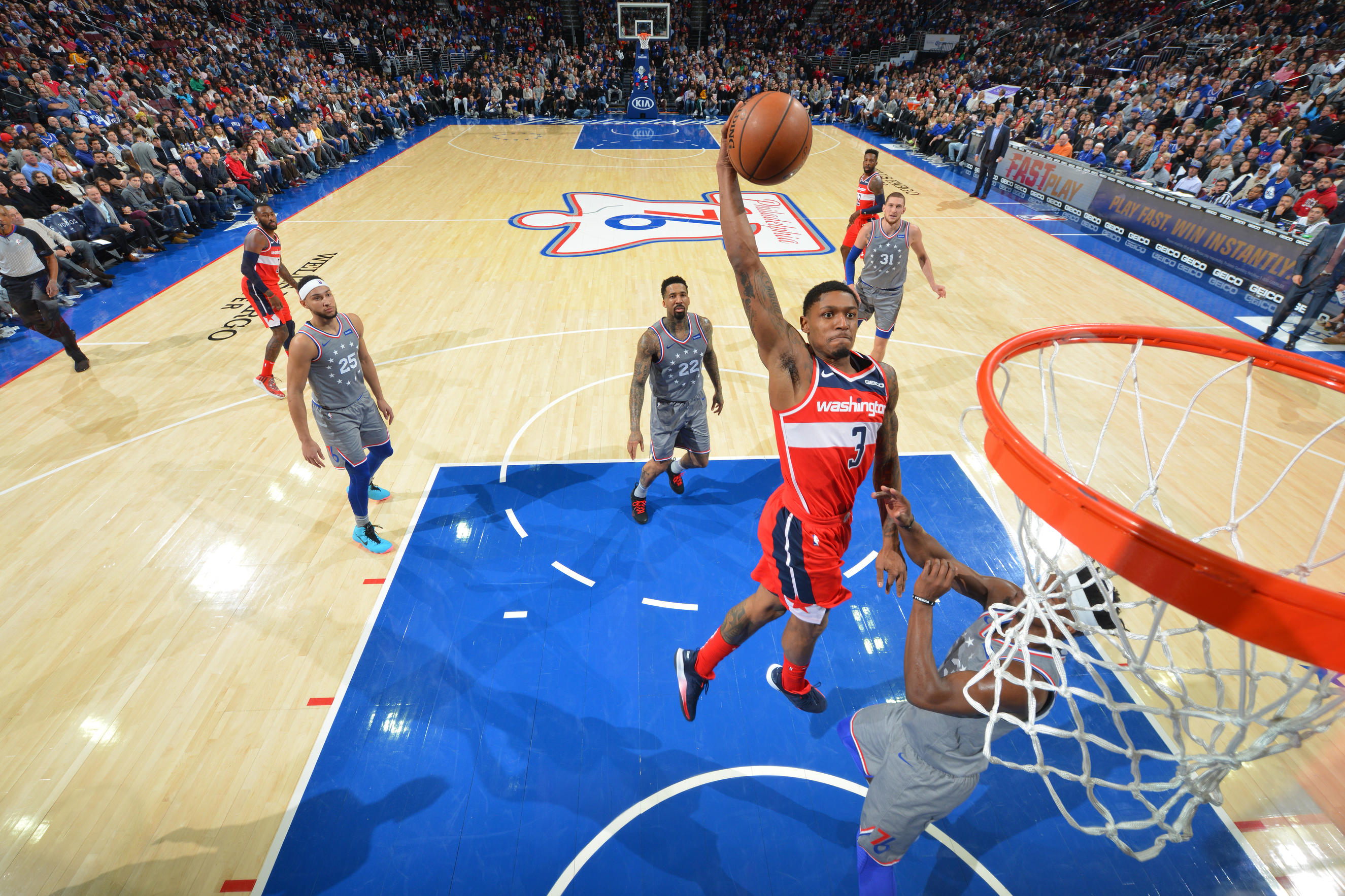 Sixers cruise past Wizards in Philly 123-98