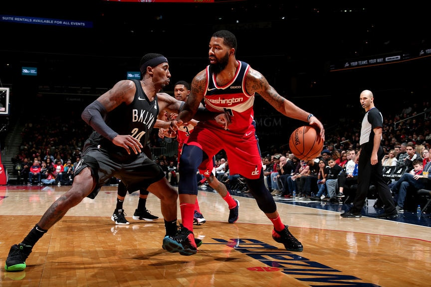 Wizards' defense steps up to down Nets 102-88