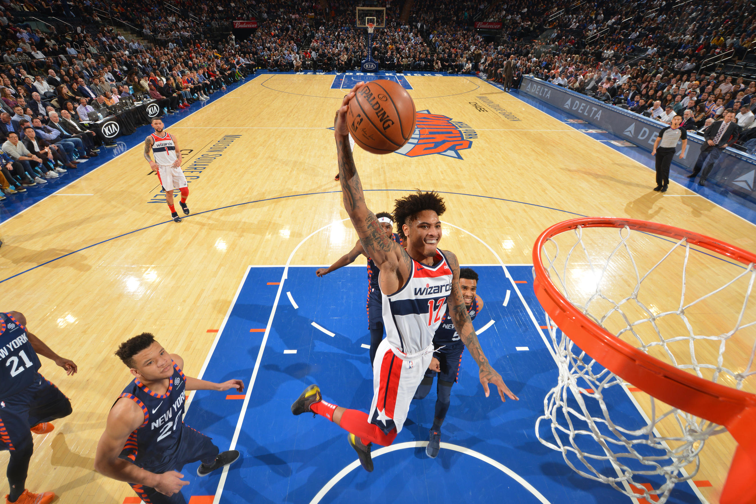 Wizards beat Knicks push winning streak at 'The Garden' to nine