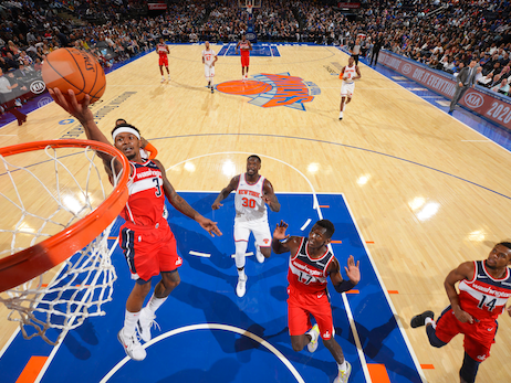 Short-handed Wizards face Knicks Monday night