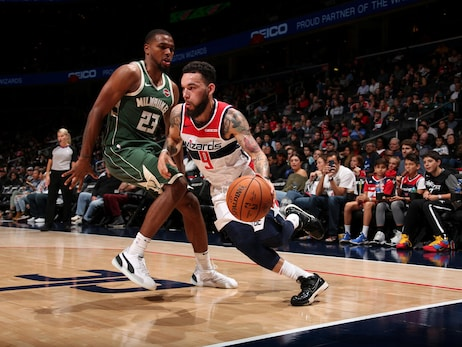 Wizards battle, but fall to Bucks in fourth preseason game