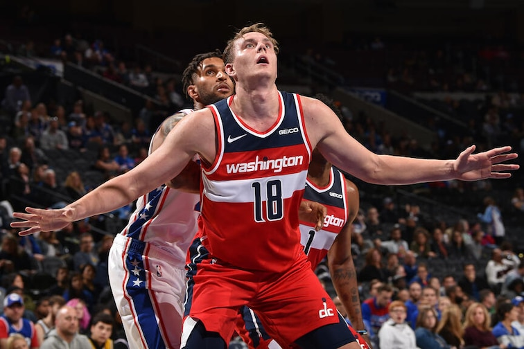 Washington Wizards Wizards sign center Anzejs Pasecniks to two-way contract ...