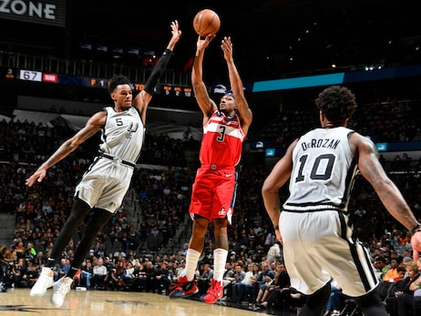 Wizards host Spurs Wednesday night