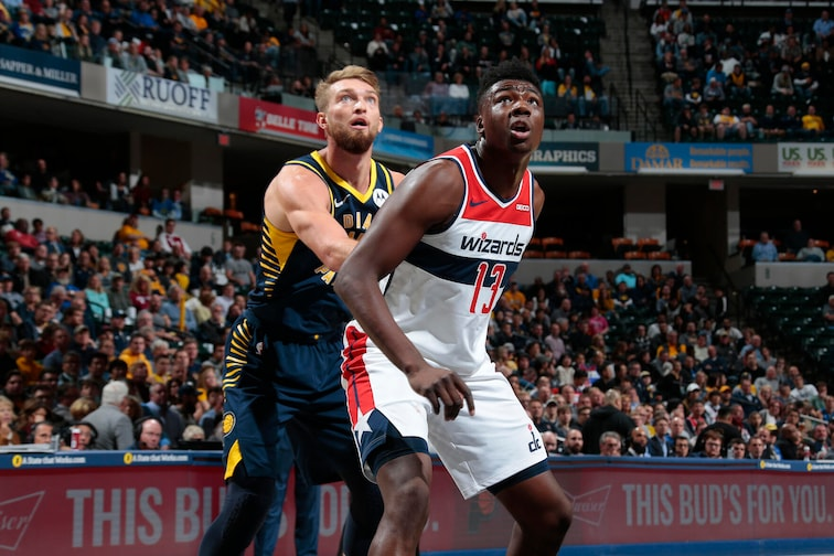 Image result for thomas bryant washington wizards