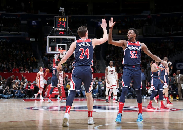 Wizards bench stabilizing an ever-changing rotation