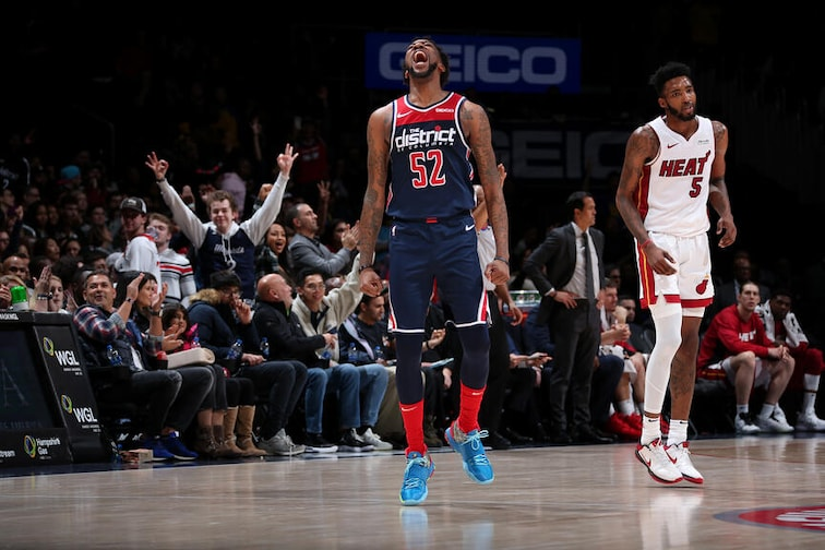 Washington Wizards Wizards beat Heat behind franchise-record 80 bench points ...