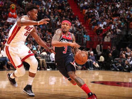 Beal scores 38 in 134-129 overtime loss to Heat
