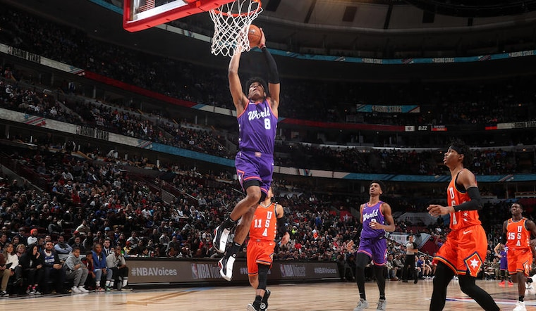 Hachimura, Wagner combine for 30 in Rising Stars Challenge