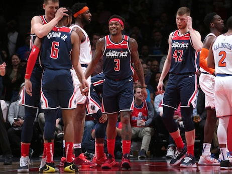 Beal's 39-point night propels Wizards to 122-115 win over Knicks