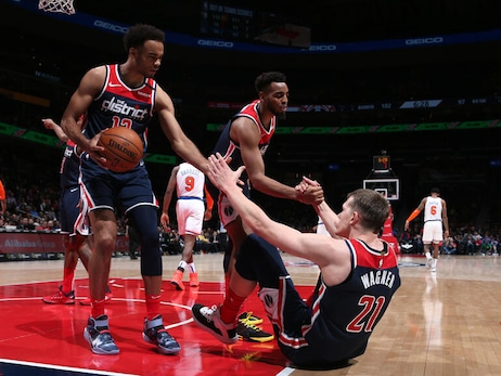 Opportunity arises for Wizards' young core with Beal, Bertans out
