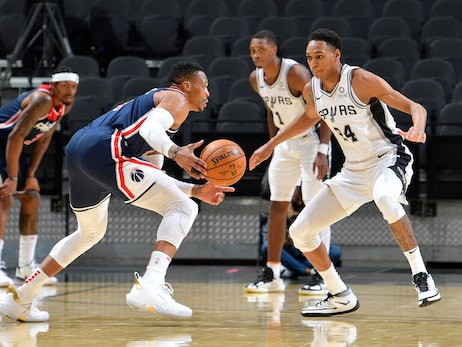 Washington Wizards v San Antonio Spurs