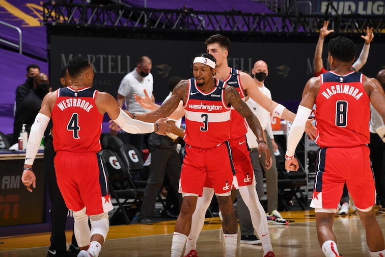 Recap: Wizards' win streak hits five as Beal, Westbrook combine for 65 to  top Lakers in overtime | Washington Wizards