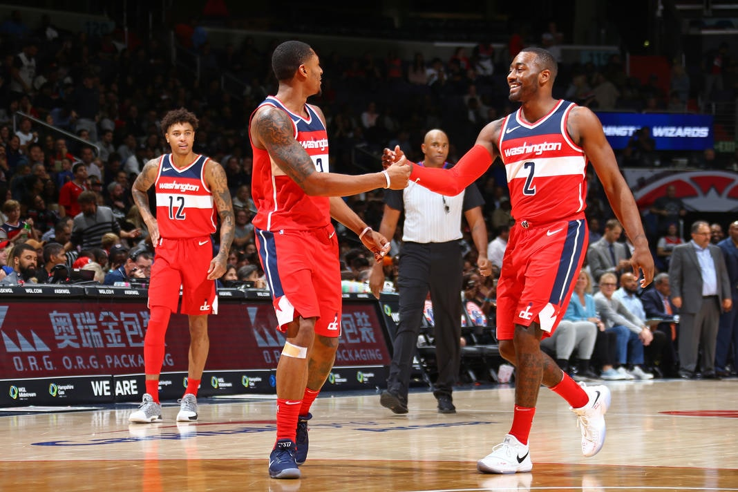 Wizards Look To Heat Up In Week At Home Washington Wizards
