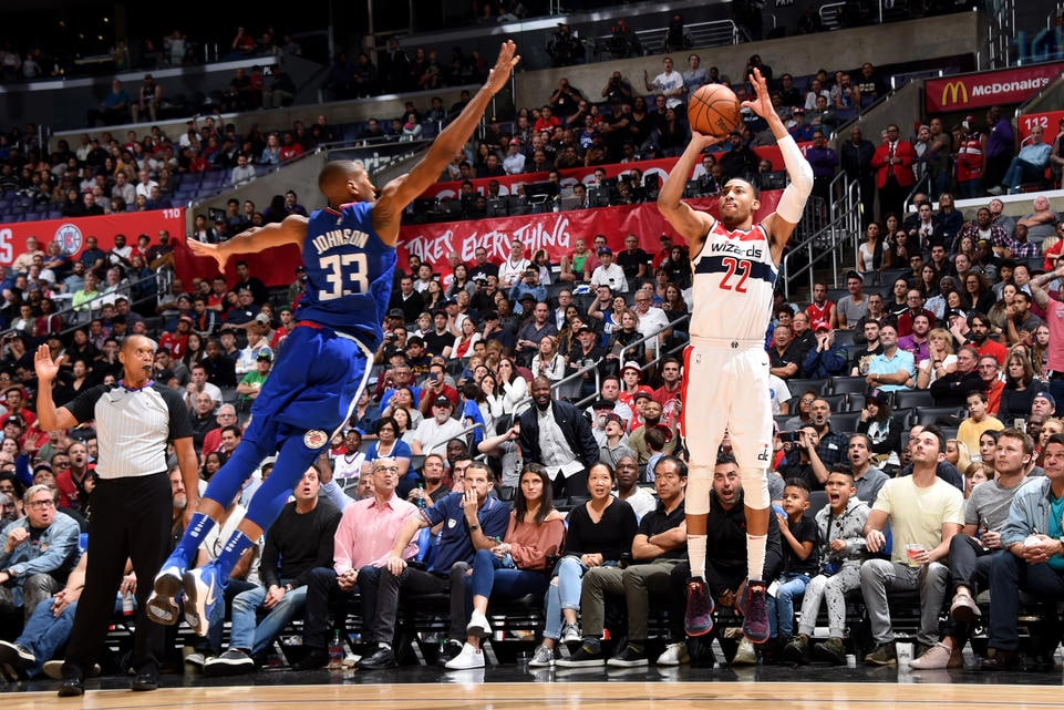 Wizards fall in closing seconds to Clippers 113-112