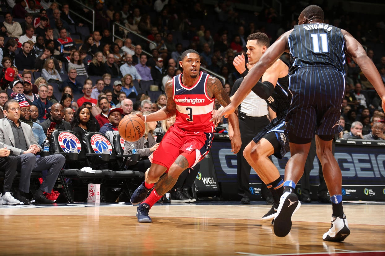 Wizards out-shoot Magic in D.C.  Washington Wizards