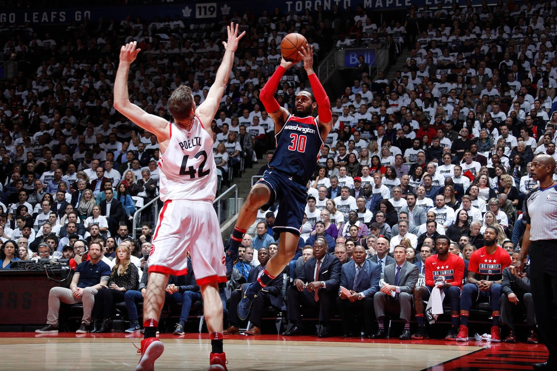 Wizards can't overcome early deficit drop Game 2 in Toronto