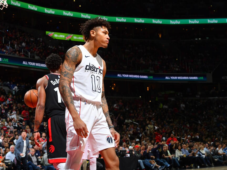 Oubre energizes Wizards to even series