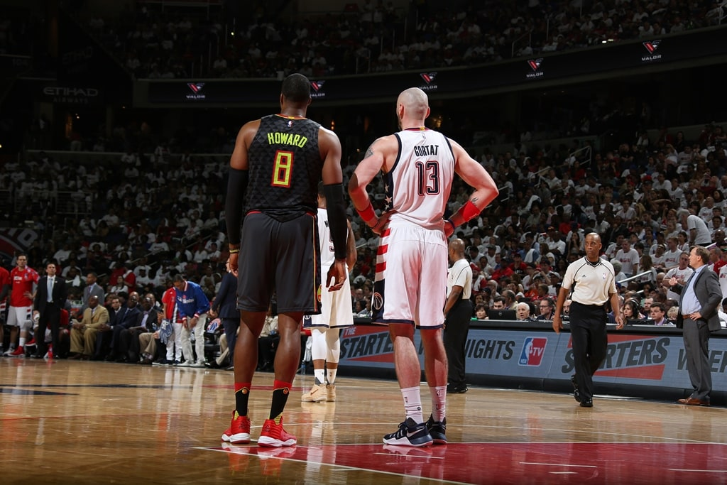 Gortat making most of opportunity against former teammate Howard