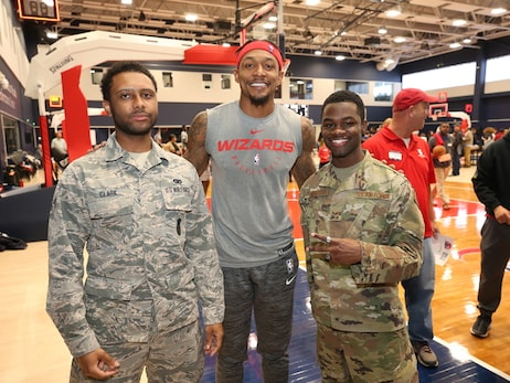Wizards host annual Veterans Day open practice