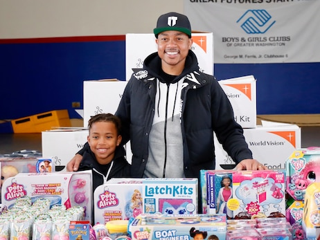 Photos: Isaiah Thomas World Vision Toy Distribution - 12/7/19
