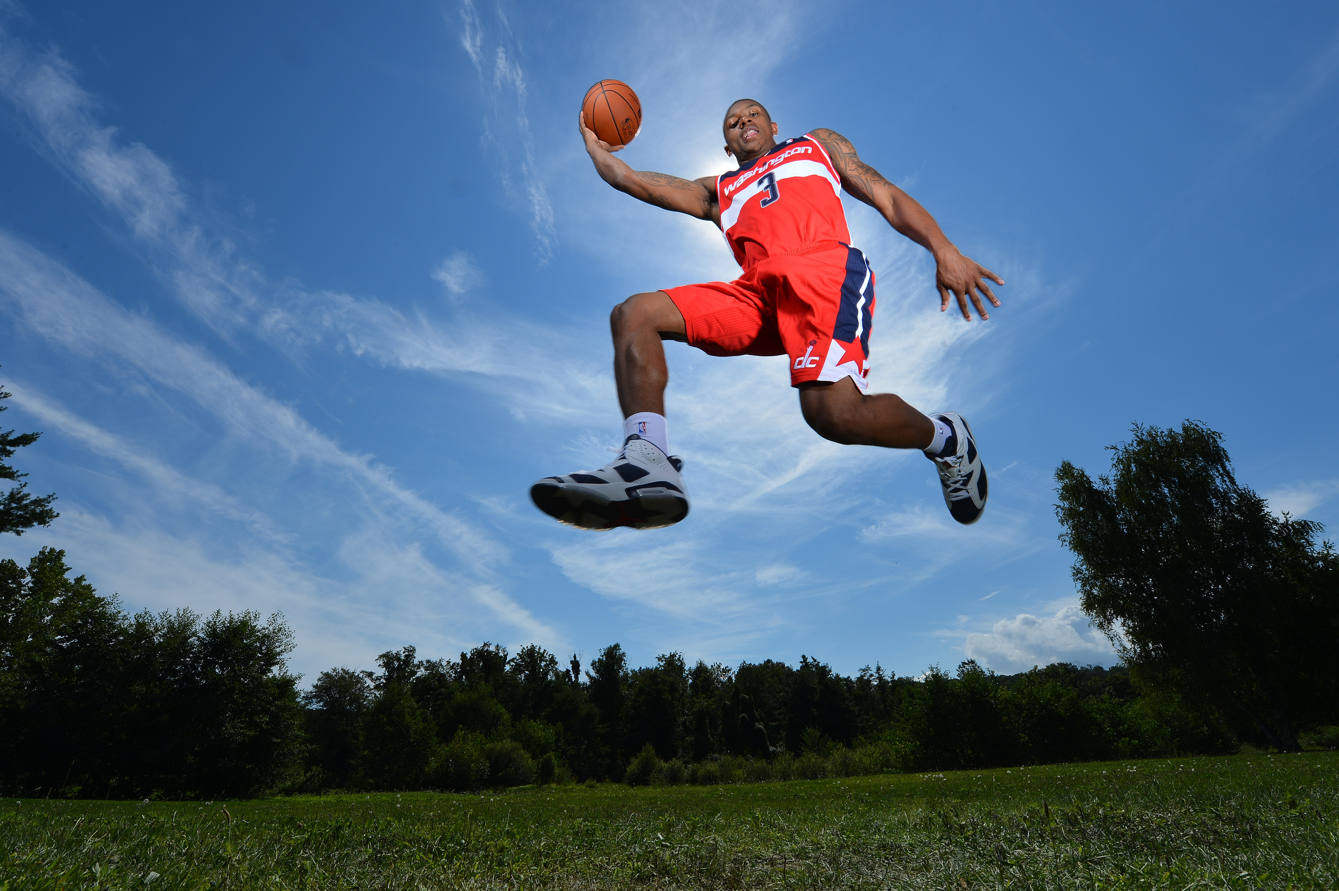 Bradley Beal Rookie Photo Shoot Washington Wizards