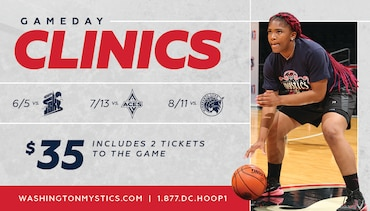Mystics Game Day Clinics