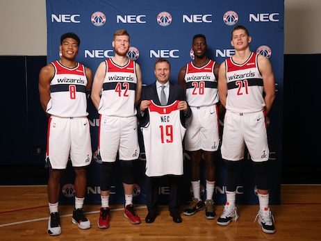 Monumental Sports & Entertainment, NEC Announce First International Partnership for Washington Wizards