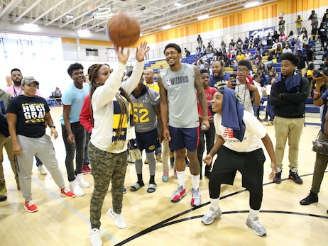 Photos: Wizards Takeover at Ballou High School - 10/4/19